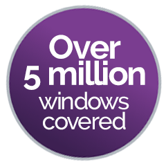 5 million windows covered