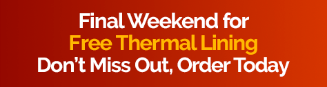 Free Thermal Lining - Final Weekend