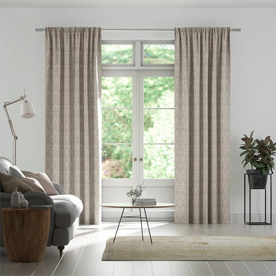 Adrianna Bisque Curtains
