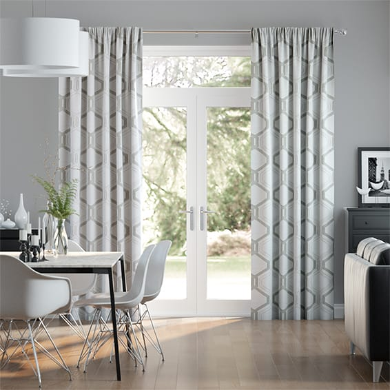 Alexander Silver Curtains