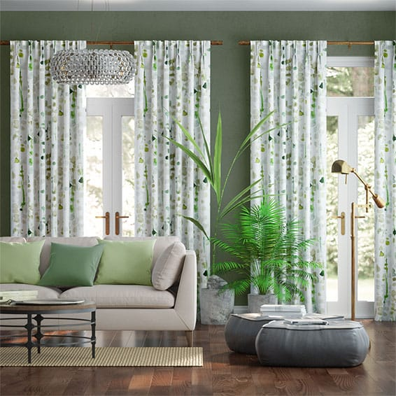 Green Leaf Curtains To Go™, Huge Range Of Lovely Green