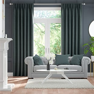 Image result for dusty green curtains