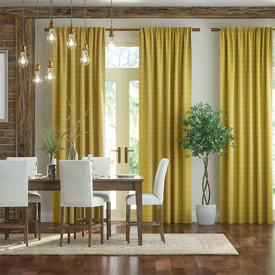 Ashbourne Citrus Curtains