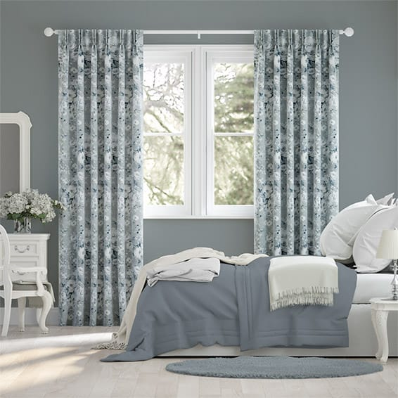 Ashmore Aqua Curtains