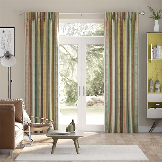 Aymara Velvet Tribal Curtains