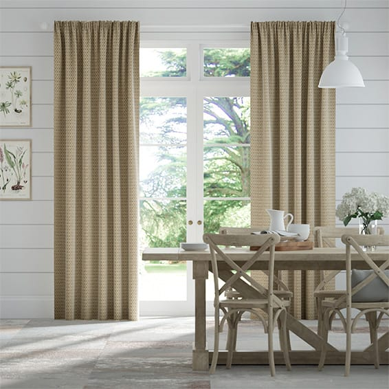 Berber Basket Beige Curtains