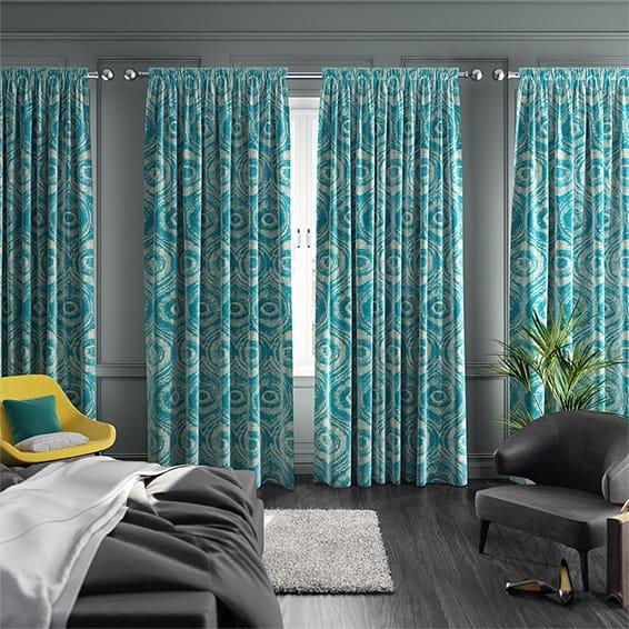 Bocca Teal Curtains