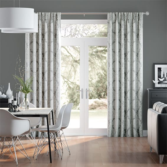 Bourgeois Silver Curtains