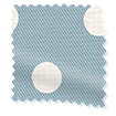 Button Spot Blue Curtains slat image