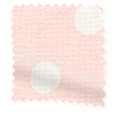 Button Spot Pink Curtains slat image