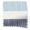 Cardigan Stripe Blue Horizon Curtains slat image