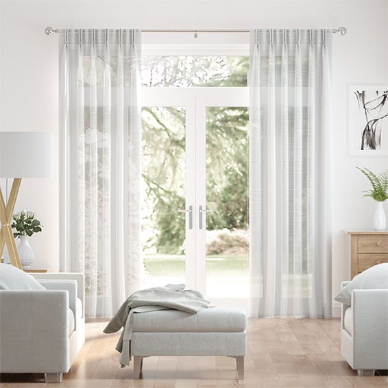 Cava Voile Oyster Curtains