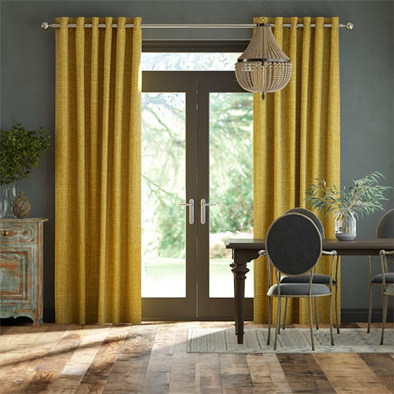 Cavendish Mimosa Gold Curtains