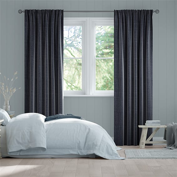 Cavendish Navy Curtains