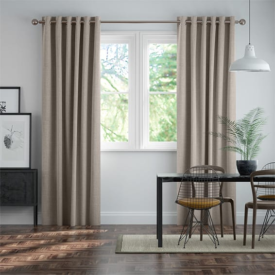 Cavendish Warm Stone Curtains
