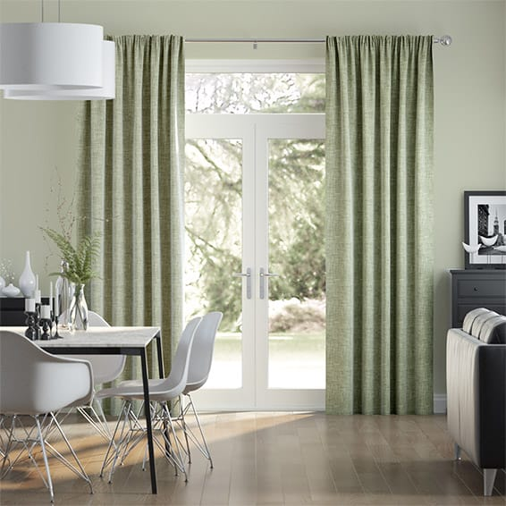 Chamberlain Spring Green Curtains