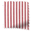Devon Stripe Red Curtains slat image