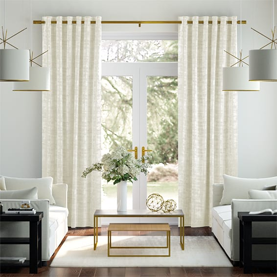 Dorchester Velvet Cream Curtains