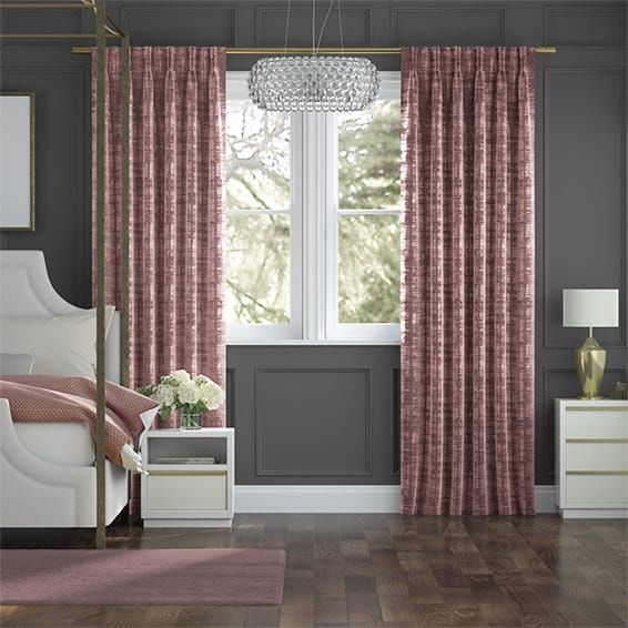 Dorchester Velvet Dusty Rose Curtains