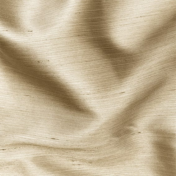 Dupioni Faux Silk Flax Curtains