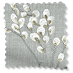 Emilia Embroidered Grey Curtains slat image