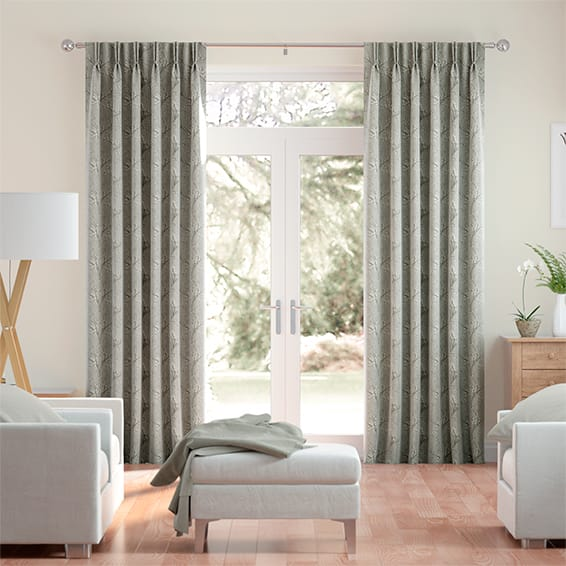 Emilia Embroidered Sand Curtains