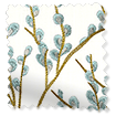Emilia Embroidered Sky swatch image