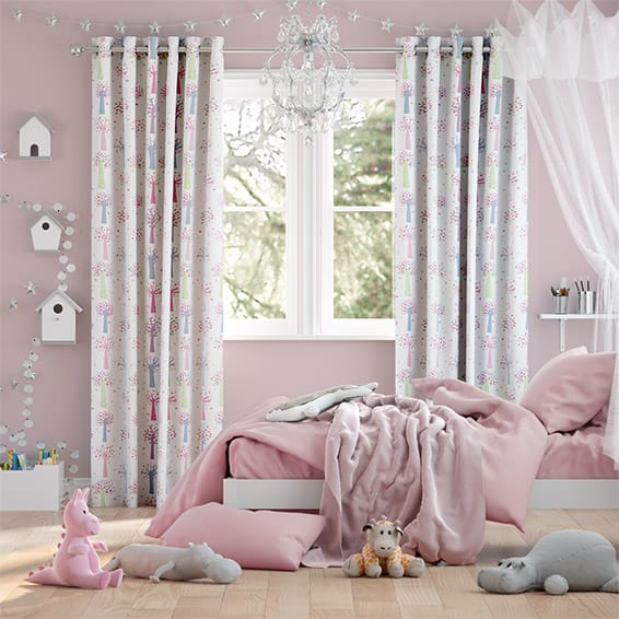 Enchanted Forest Candy Curtains