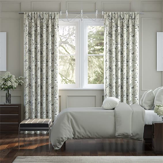Everly Linen Neutral Curtains