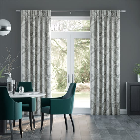 Fern Leaf Pumice Curtains