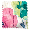Wave Fiori Linen Summer Berry swatch image
