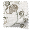 Floral Ink Linen Sepia swatch image