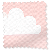 Fluffy Clouds Pink Curtains slat image