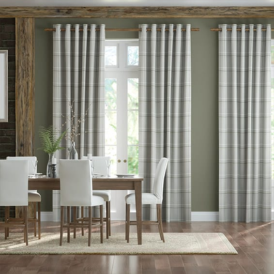 Fraser Olive Curtains