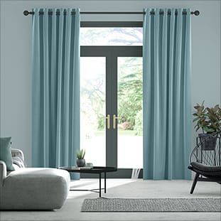 Blue Curtains 2go™ | Duck Egg, Navy Blue, Teal & More