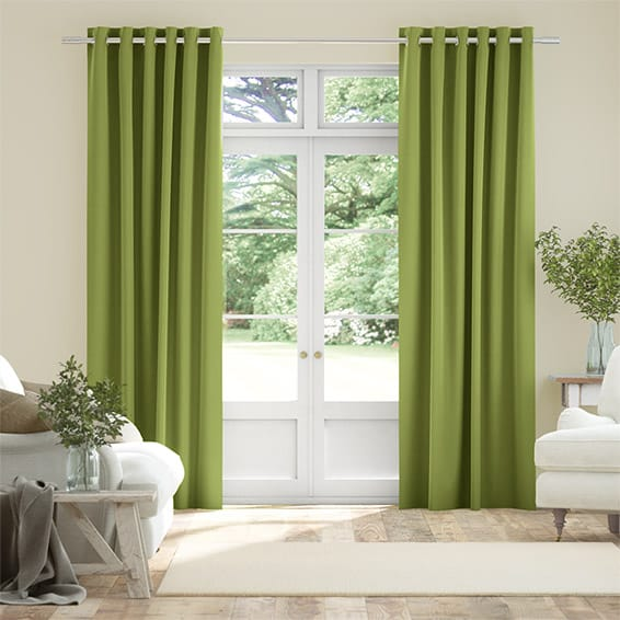 Harrow Lime Curtains