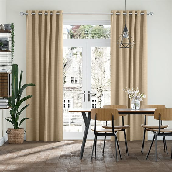 Harrow Oatmeal Curtains