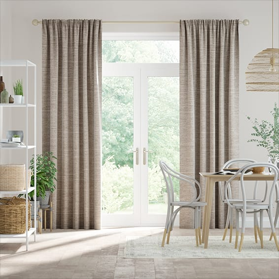 Harrow Warm Stone Curtains