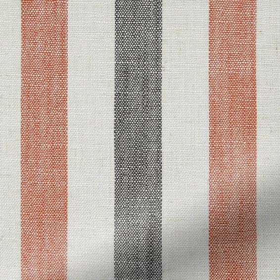 Hathaway Burnt Orange Curtains