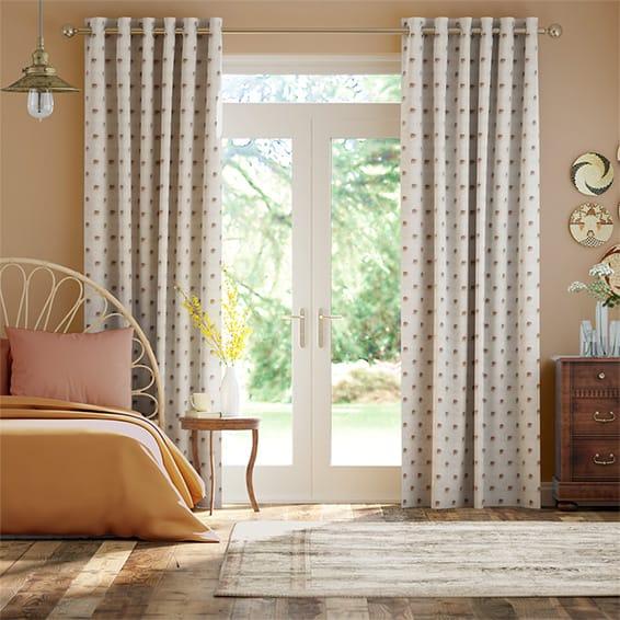 Indian Elephants Curtains