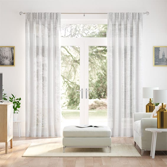 Ionian Voile Crystal Curtains