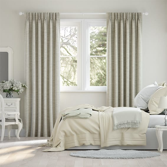 Liliana Lightest Taupe Curtains