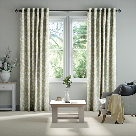 Linley Cream Ready Made Curtains