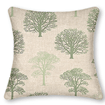 Little Orchard Evergreen Curtains - Cushions