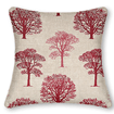 Little Orchard Scarlet Curtains - Cushions