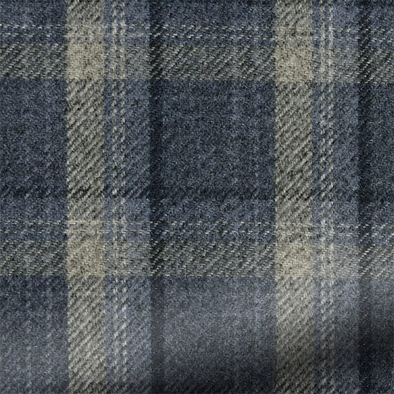 Livingston Plaid Navy Curtains