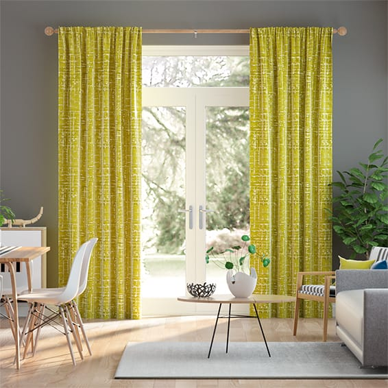 Lucas Citrine Curtains