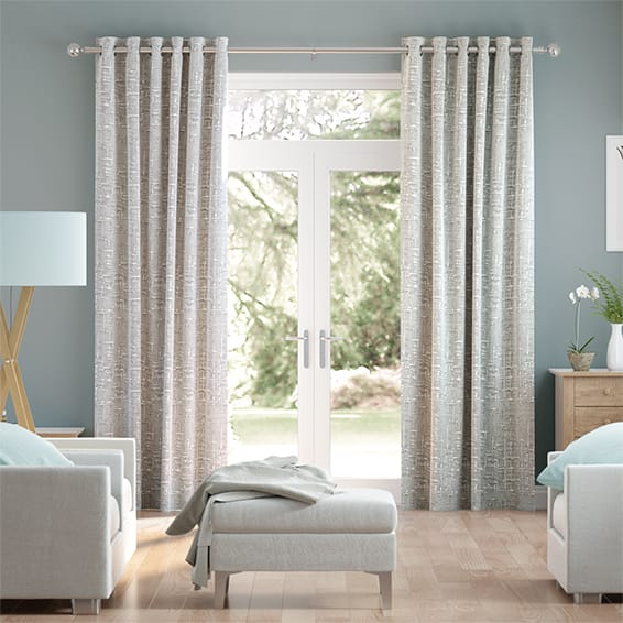 Lucas Silver Curtains