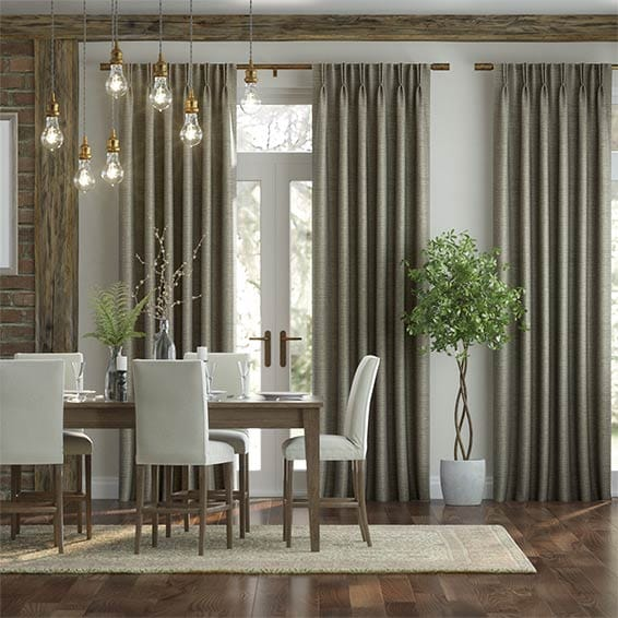 Lucerna Pale Bronze Curtains