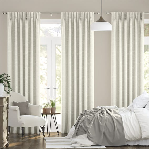 Lugano Vanilla Curtains